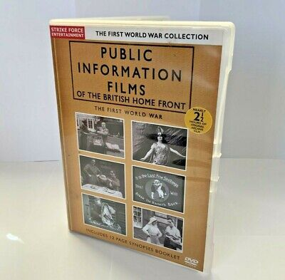 £45.99 • Buy DVD Public Information Films Of The British Home Front The First World War RARE