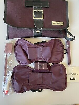 £3 • Buy KLM Airline Amenity Kit Viktor And Rolf. Purple Ltd Edition First Business Class