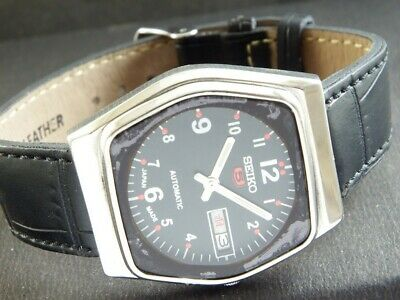 $ CDN1.70 • Buy OLD VINTAGE SEIKO 5 AUTOMATIC JAPAN MEN'S DAY/DATE WATCH 432j-a217160-7