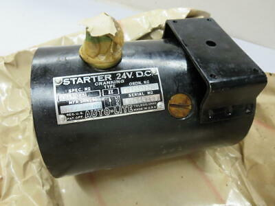 $85 • Buy Willys Military Jeep M38 M38A1 M37 G740 G758 24V Starter Housing With Field Coil