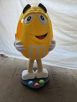 $250 • Buy M&M's M&M Character Collectible Yellow Peanut Store Display 41  On Wheels ~ NEW
