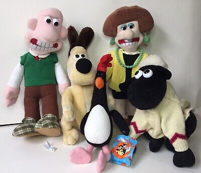 £11.90 • Buy Wallace And Gromit Figures Collection Soft Toy Group