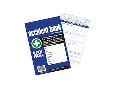 £3.65 • Buy First Aid Accident Book Office School Injury Report HSE GDPR RIDDOR A4 50 Page