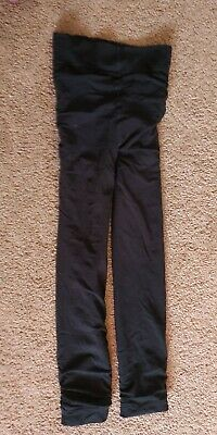 £10 • Buy Small Black Thermal Cropped Trousers