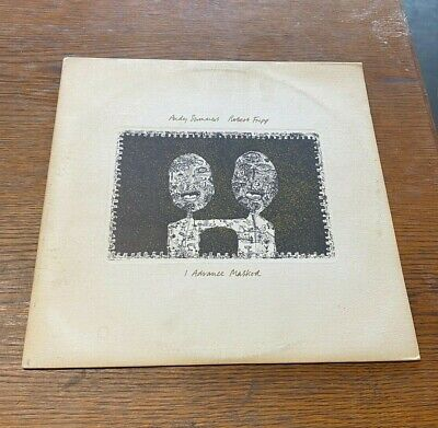 £3.55 • Buy Robert Fripp/Andy Summers Lp  I Advance Masked  1982 A&M SP4913 VG+