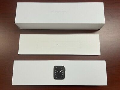 AU165.50 • Buy Apple Watch Series 5 40mm GPS And Cellular Silver Aluminium