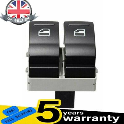 £5.98 • Buy Electric Window Double Switch Driver Side For VW Transporter T5 T6 Caravelle UK