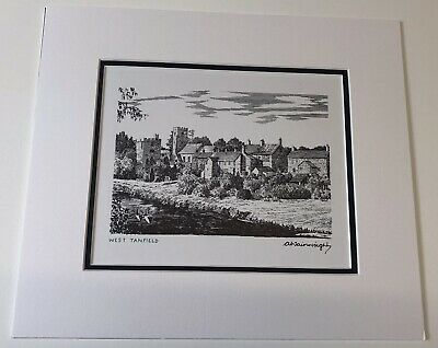 £125 • Buy Alfred Wainwright    Original Signed B/white. Print.   West Tanfield