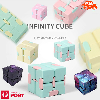 AU5.95 • Buy Infinity Cube Fidget Toys Magic Puzzle Sensory Autism Anxiety ADHD Stress Relief