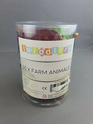 £9.97 • Buy 50 Pack Animal Farm Toys  - New Open Box - Twiddlers - Free P&P - Unchecked VGC