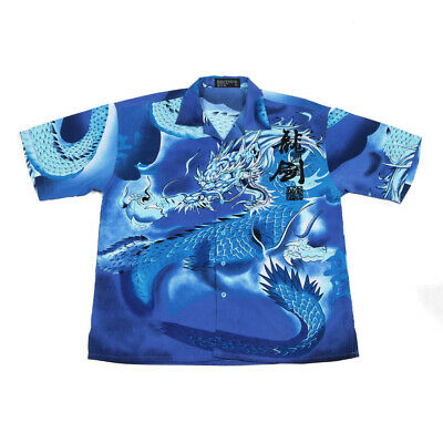£25.59 • Buy Vintage Chinese Dragon Shirt | XL | Retro Festival Party 90s Y2K Graphic