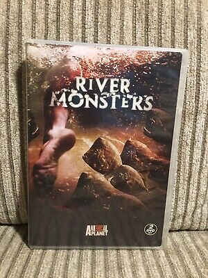 £18.15 • Buy River Monsters DVD 2 Disc Set Animal Planet Jeremy Wade Tested