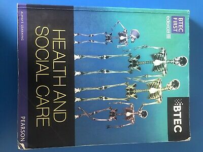 £2 • Buy BTEC Health And Social Care Textbook
