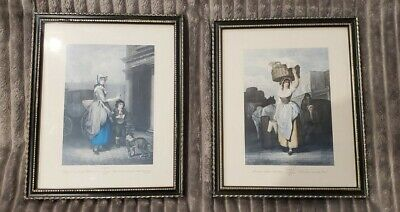 £0.99 • Buy Cries Of London X 2 Framed Prints, Plate 4th & 9th