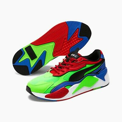 AU133.63 • Buy Puma RS-X Tailored Men's Sneakers Shoes Green/red/blue 373418 01