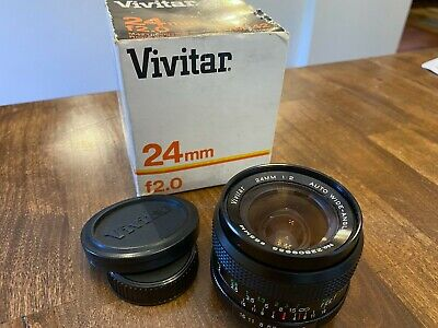 $149 • Buy Vivitar 24 F2 M42 Mount Lens, Blades Are Dry And Aperture Works