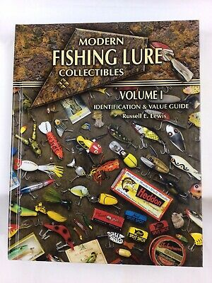 £10.78 • Buy Modern Fishing Lure Collectibles Volume 1 Hardcover Book, Russell E. Lewis