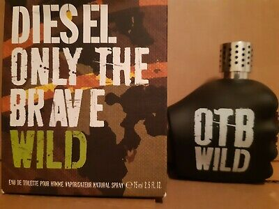 £15 • Buy DieseI 0nly The Brave Wild 75ml Edt Sprayed Once See Description