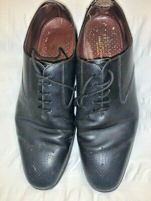 £10 • Buy Charles Tyrwhitt  Black Leather Men's Lace-Up Shoes - Size 11