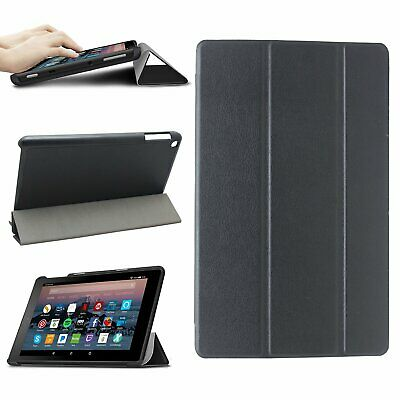 £6.95 • Buy For Amazon Kindle Fire HD 8 / Plus 2020 10th Generation Leather Smart Case Cover