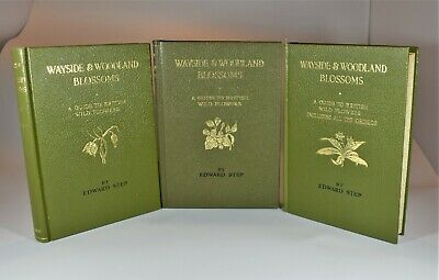 £56 • Buy Wayside And Woodland Blossoms. (Series 1,2 &3) Edward Step. (1963) Colour Plates