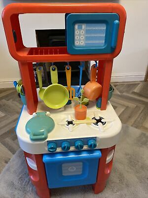 £20 • Buy ELC Little Cooks Kitchen - Red And White With Sounds Early Learning Centre