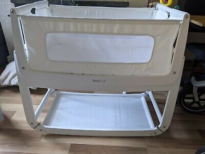 £20 • Buy Snuzpod 3 White Baby Cot Next To Me Bedside Crib
