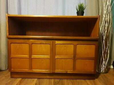 £85 • Buy Mid 20th Century Nathan Squares Teak Sideboard. TV, Drinks Or Record Cabinet