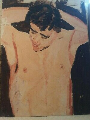 $90 • Buy Original Oil Painting From 1930's Provincetown, MA - Homoerotic Expressionism