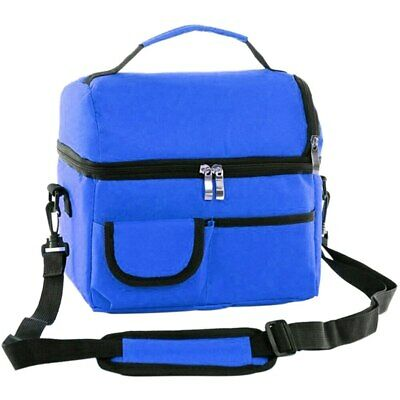 AU17.99 • Buy Insulated Lunch Bag Box For Women Men Thermos Cooler Hot Cold Adult Tote Food