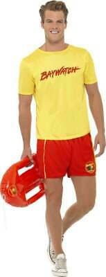 £21.86 • Buy Mens Baywatch Men's Beach Costume Tv Outfit