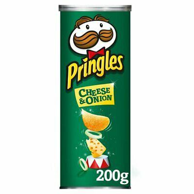 £9.49 • Buy Pringles Cheese And Onion 200G Pack Of 2 & 4