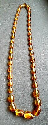 £30 • Buy Antique Amber Necklace