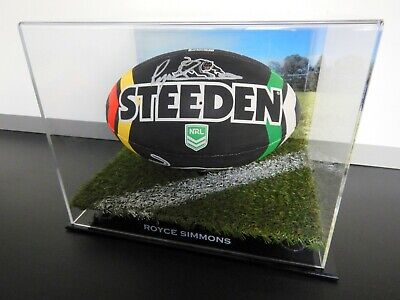 AU299.99 • Buy ✺Signed✺ ROYCE SIMMONS Panthers Football PROOF COA Penrith 2021 Jersey NRL