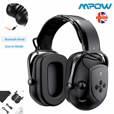 £27.99 • Buy Mpow Bluetooth Wireless Headphones Ear Muffs Hearing Protection Noise Reduction