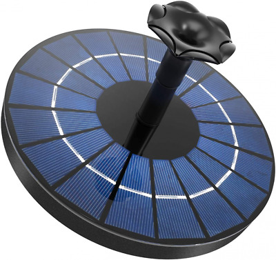 £17.41 • Buy Ankway Solar Water Pump With Battery 1500mAh, Upgraded 3.5W 3.5W-Battery