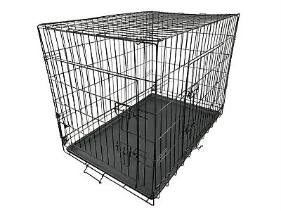 £15.29 • Buy A GRADE Dog Animal Cage Puppy Crate Pet Training Carrier XL With Tray