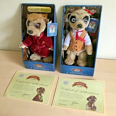 £19.97 • Buy Aleksandr & Yakov Meerkat Toy   Boxed With Certificate   Compare The Market