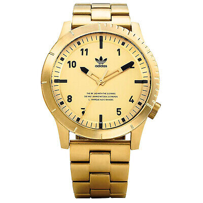 $170.40 • Buy Adidas Men's Cypher M1 Gold Dial Watch - Z03-510