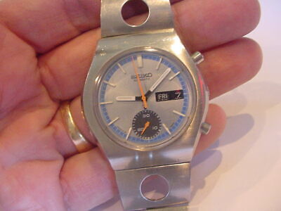 $ CDN145.53 • Buy ESTATE FIND 1971 SEIKO DAY DATE AUTOMATIC CHRONOGRAPH 6139 6005 No Reserve!