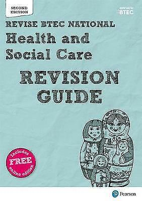 £4 • Buy BTEC National Health And Social Care Revision Guide: Second Edition By James...