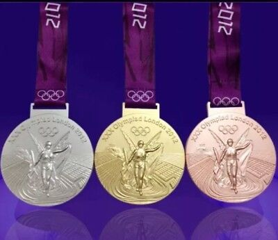 £34.99 • Buy Full Set Of Medals 2012 London Olympic GOLD+SILVER+BRONZE Very Reasonable Price