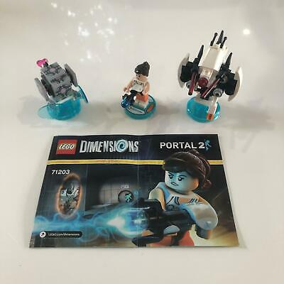 AU59.99 • Buy LEGO Dimensions 71203 | Portal 2 Level Pack | Used 100% Complete