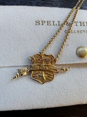 AU80 • Buy Spell & The Gypsy Necklace 'Gypsy Ride Like The Wind' Gold