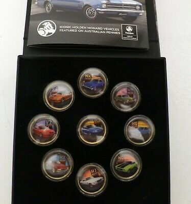 AU199 • Buy Holden Monaro Gold Plated Enamel Coin Collection