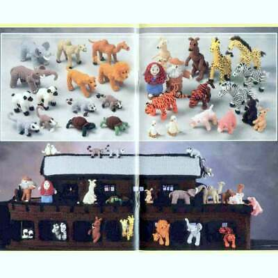 £2.49 • Buy Crochet Pattern Book 0566. Ark, Noah & Wife And Tons Of Animals