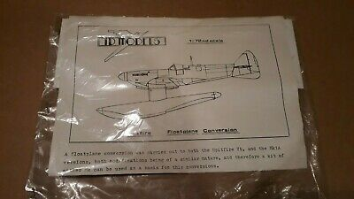 £5 • Buy ID Models 1/72 Scale Vac Form Spitfire Floatplane Conversion New Old Stock