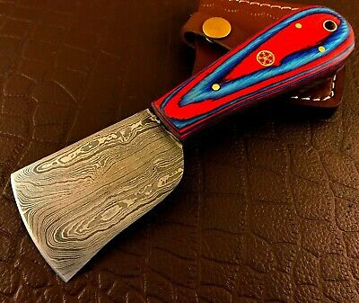 £6.50 • Buy Handmade Damascus Steel Leather Cutting Tool-Cutter-Skiving Tool-LCd237