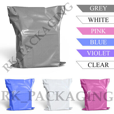 £2.25 • Buy Grey Mailing Bags Strong Poly Postal Post Postage Self Seal Packaging Strong
