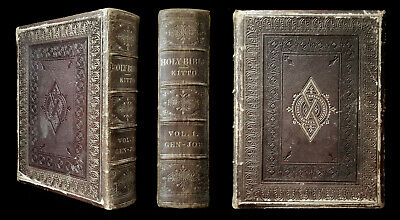£44 • Buy Kitto & Birks : The Illustrated Family Bible ... Old & New Test. 1st Ed C. 1865